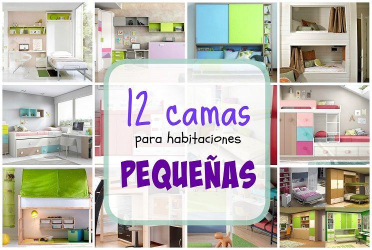 12 camas para habitaciones peque as literas camas tren abatibles decoracion infantiles - Literas para habitaciones pequenas ...