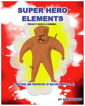Structure and properties of matter ngss ps1.a: super hero ...
