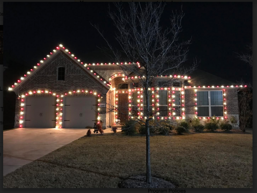Red And White Christmas Lights.Customer Photo Red And White Smooth Led Bulbs Christmas