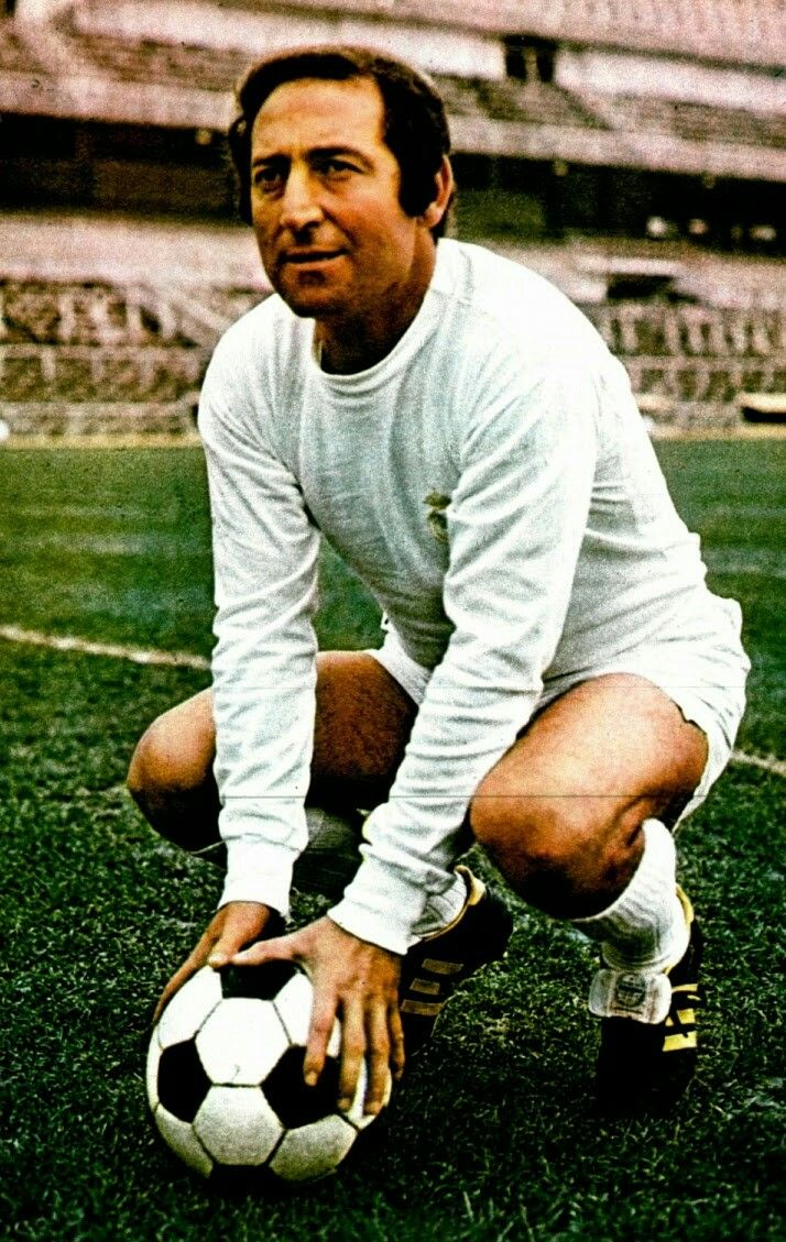 Francisco Gento of Real Madrid in 1972