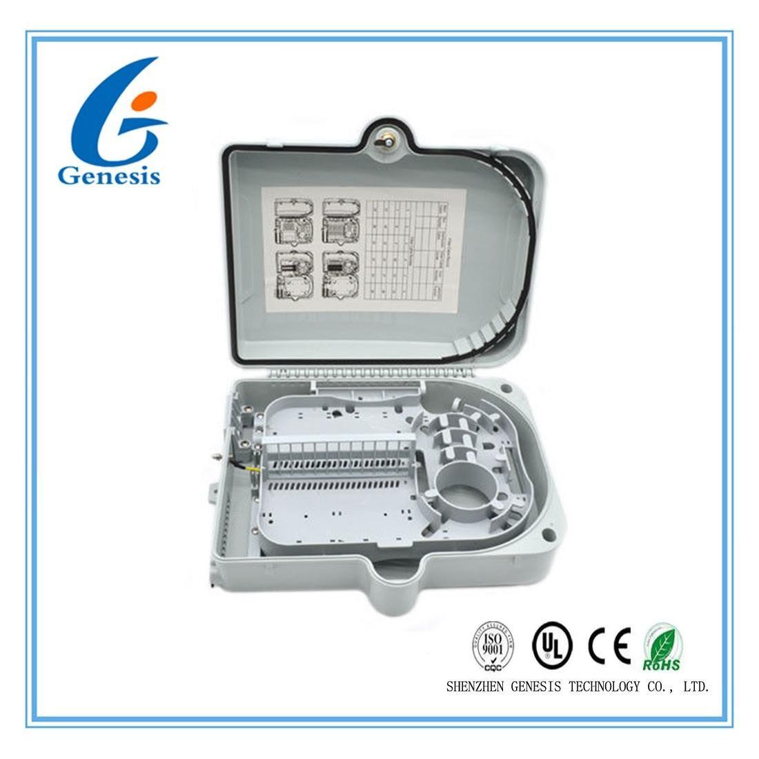 IP65 24 core Fiber Optic Distribution Box , fiber optic cable ...