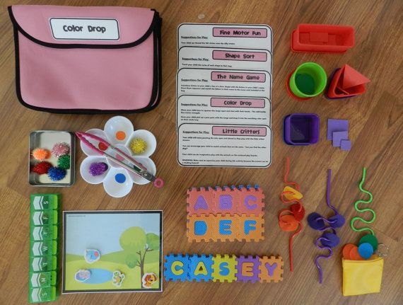 Busy bags set for 2 year old girl toddler activities toddler busy bags set for 2 year old girl toddler activities toddler birthday gift negle Gallery