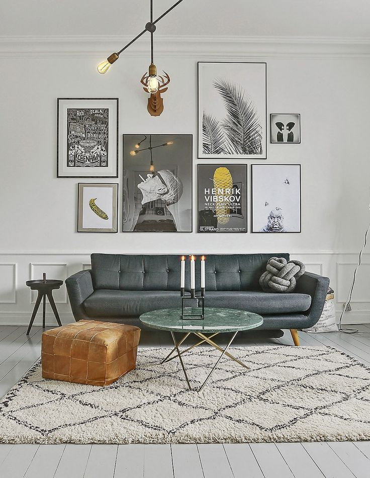 Gallery Wall Ideas Large Wall Art Ideas Interior Design Ideas Living Room Lounge Decor Desig Living Room Scandinavian Small Room Design Living Room Designs