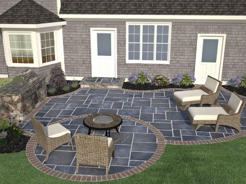 Amazing New England Patio Design   Google Search