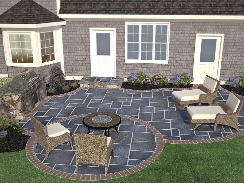 Garden Ideas New England new england patio design - google search | patios | pinterest