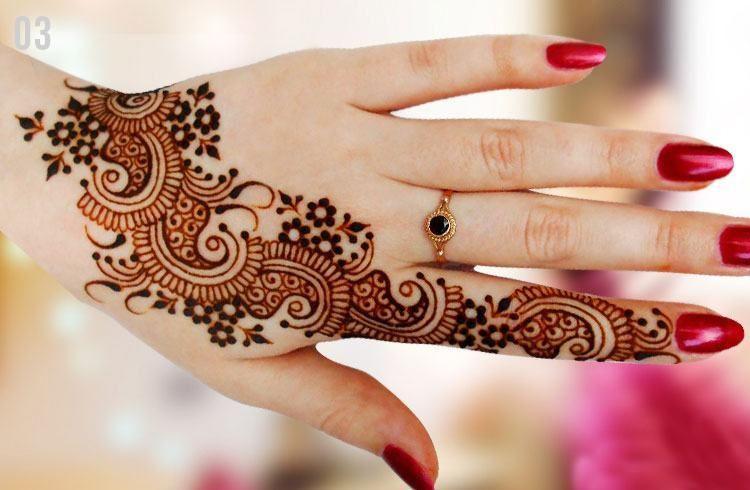Mehndi Patterns And Designs : Marwari mehndi designs for hands and feet