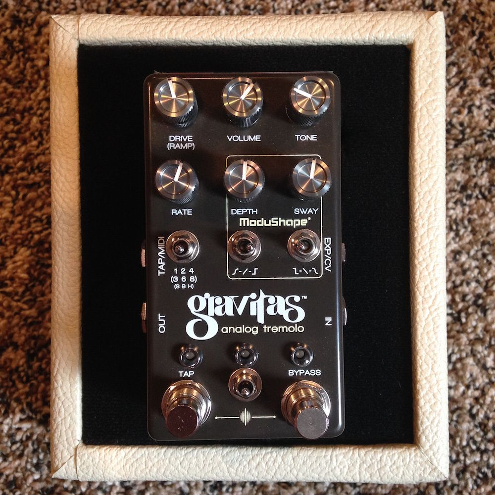 Chase Bliss Audio Gravitas Analog Tremolo Audio Tremolo