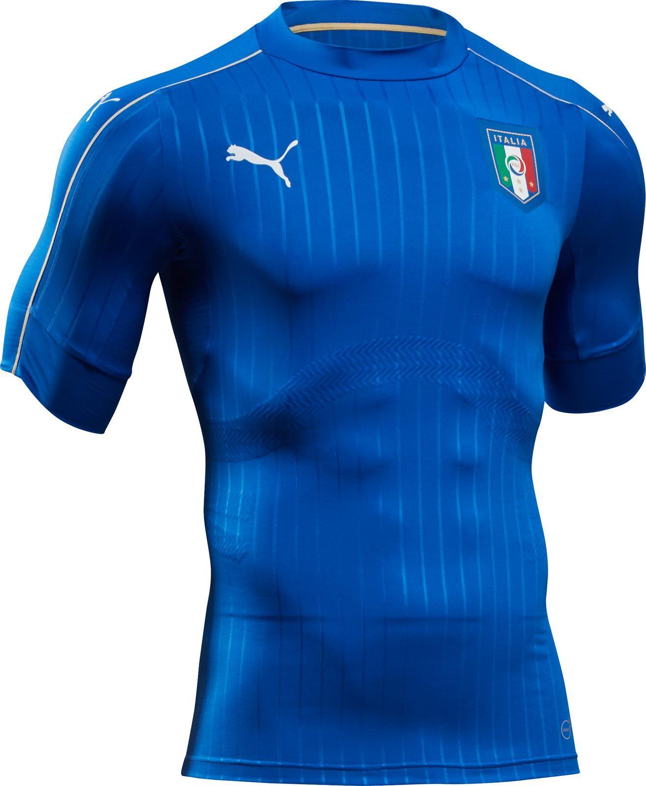 abab6f8b3a8de Puma apresenta nova camisa titular da Itália - Show de Camisas ...