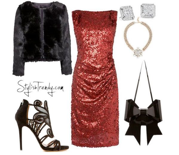 Christmas Party Wear Ideas Part - 26: Christmas Party Outfits 2015 By Stylish Trendy