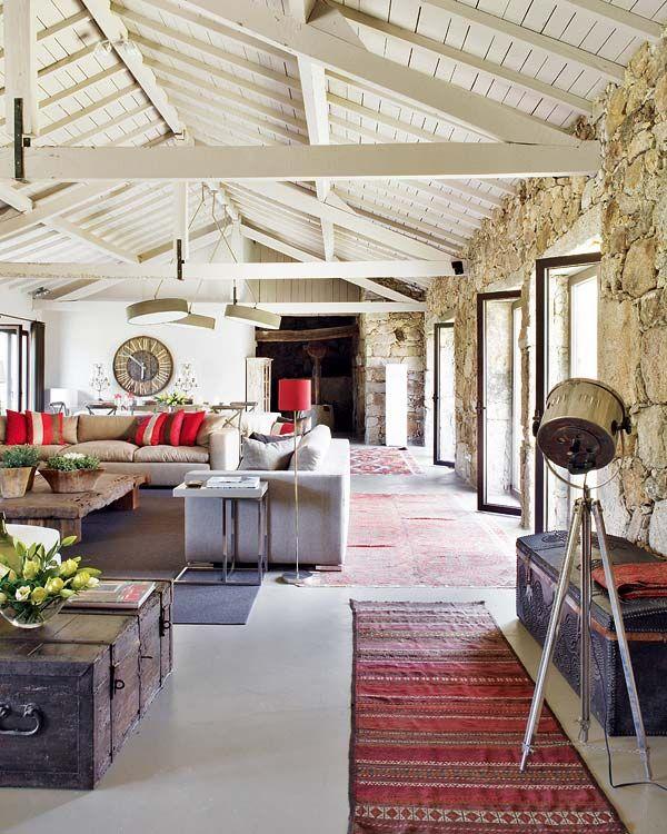 interior designer Marta Espregueira Mendes. Located in Portugal next to the  river Minho