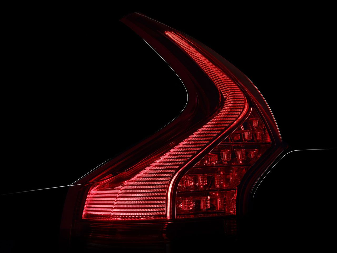 Volvo Xc90 Tail Light Design Detail Car Body Design Volvo Xc90 Volvo Car Headlights