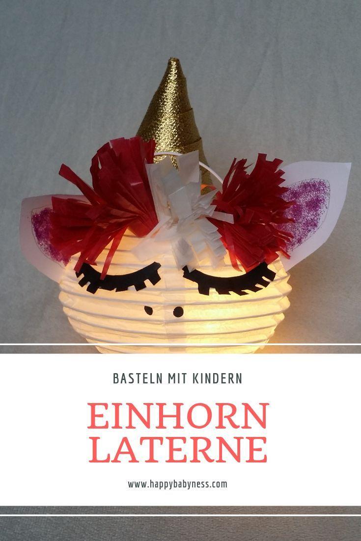#EINHORN #MARTINSLATERNE | Kostenlose #DIY #Anleitung auf #Deutsch | Einfach