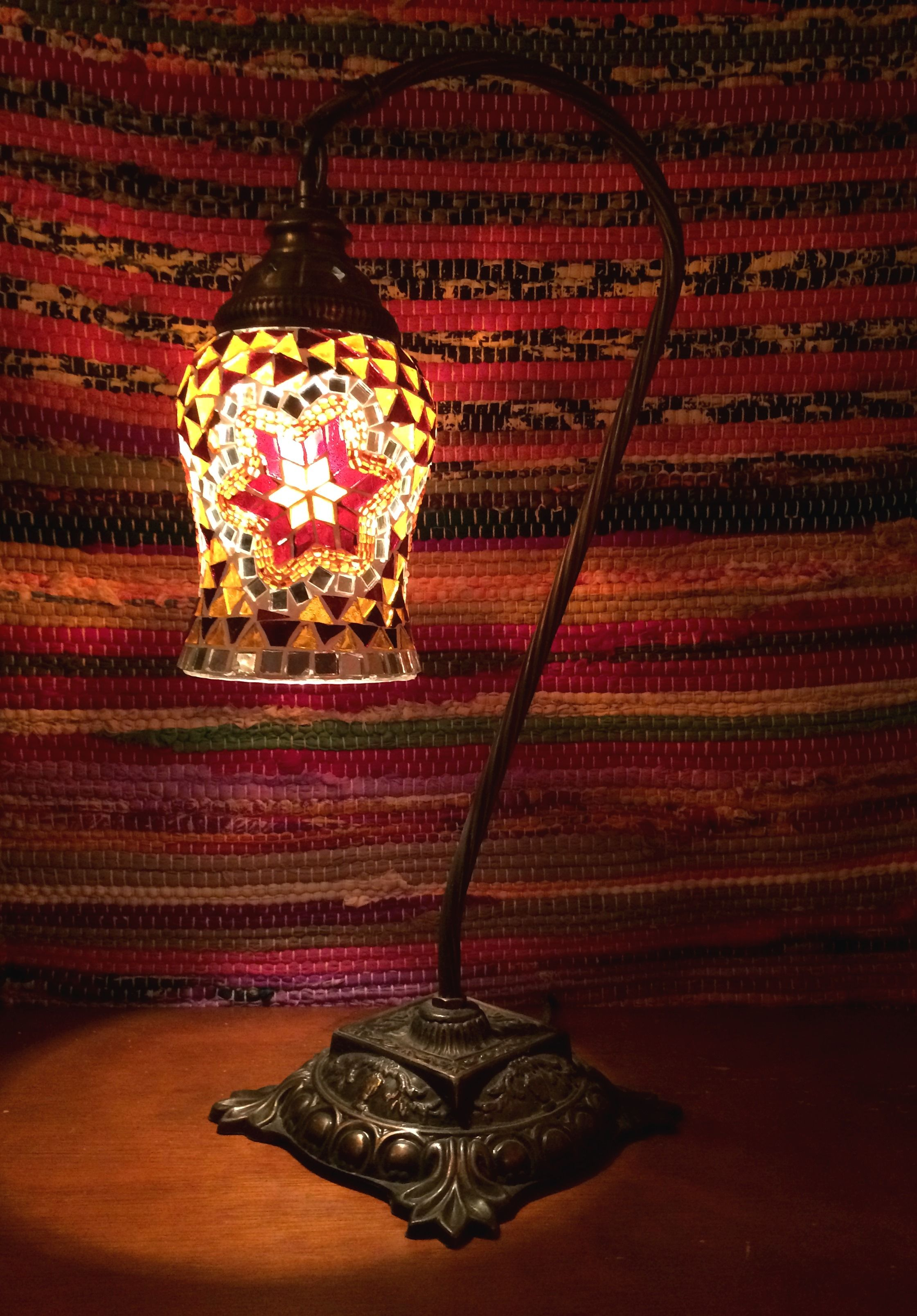 Lampara turca sobremesa | Luminarias | Pinterest | Lámparas turcas ...