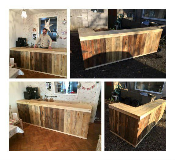 Pallet Counter/Bar U2022 Pallet Ideas