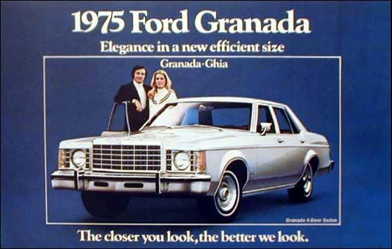 1975 Ford Granada Bing Images My First Car Was A Granada Almost