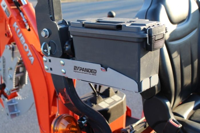 ROPS Mounted Tool Box | Kubota bx in 2019 | Tractor
