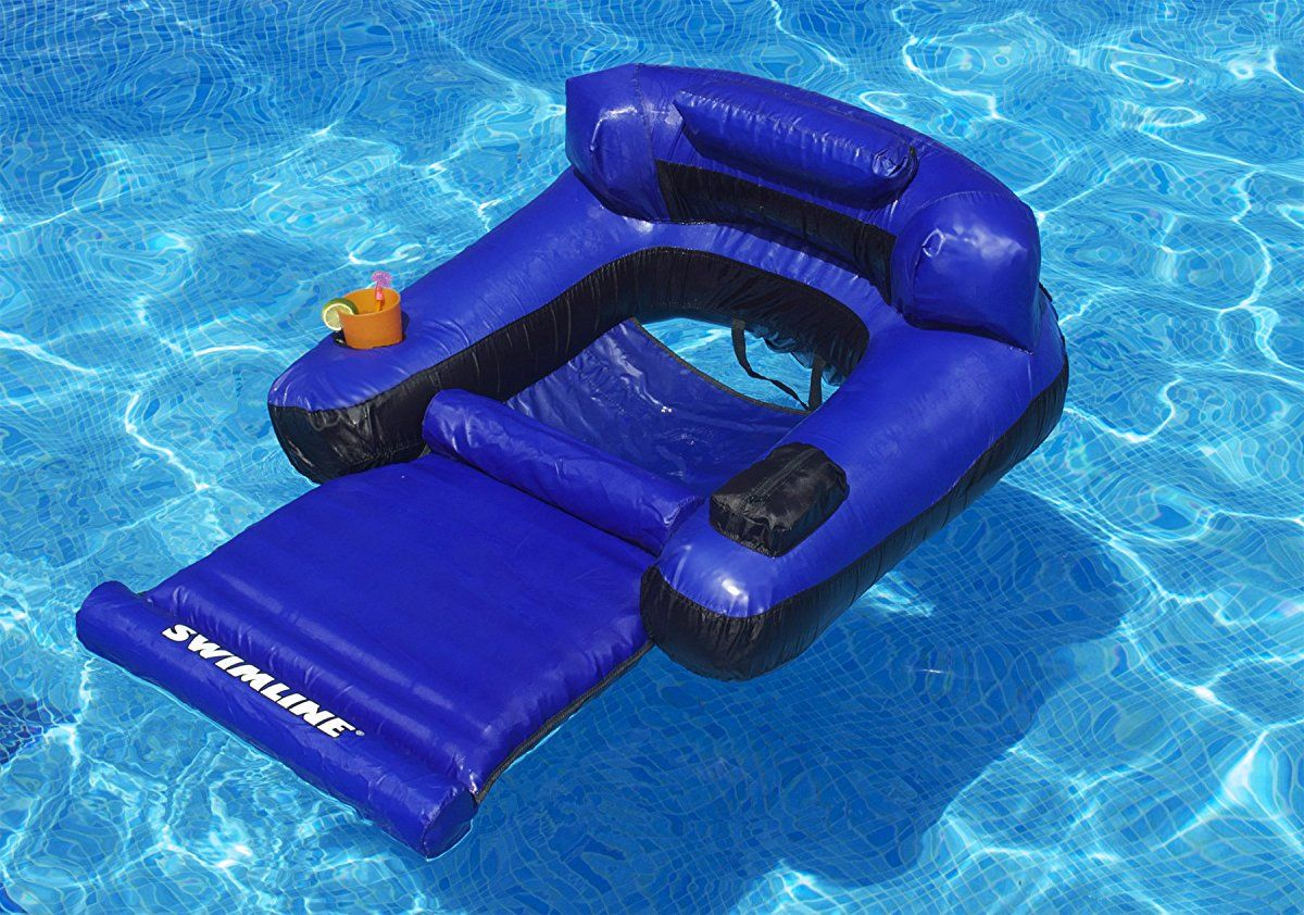 Swimline Floating Lounge Chair Swimming Pool Floats Pool Lounge Chairs Pool Floats