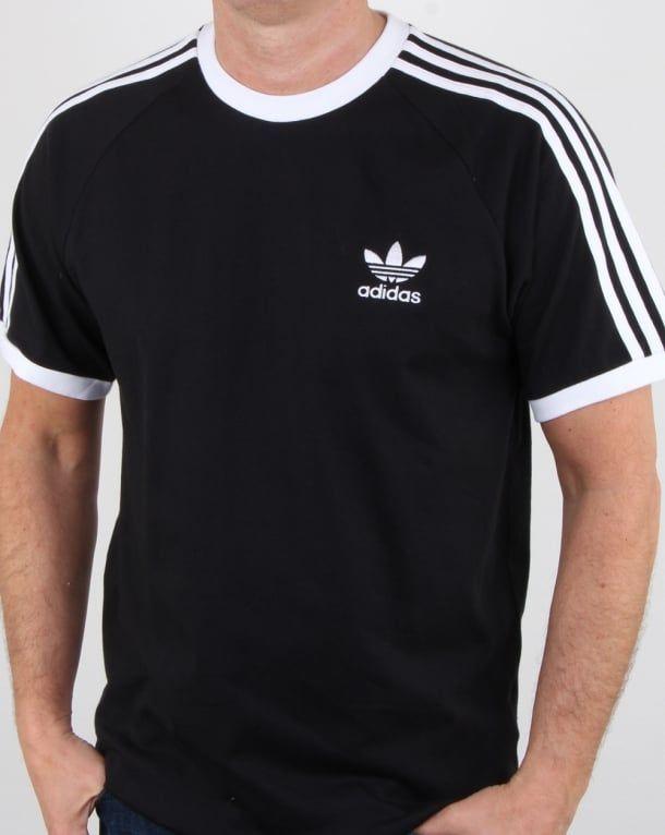 parque Estragos Autenticación  Adidas Originals, retro, 3 stripe, t-shirt, track tops,clothing, sale |  Black shirt, Adidas originals, Adidas retro