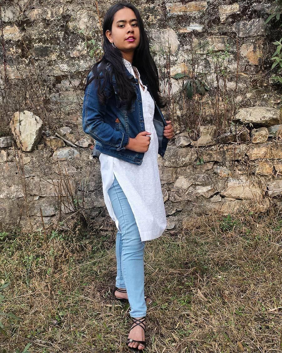 How To Style A Kurti In Winter Indian Fashion Kurti Style Fashion