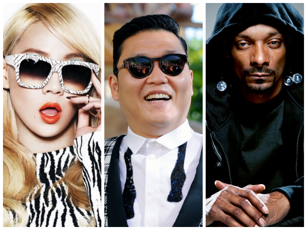 Cl Promotes Psy And Snoop Dogg S Hangover Gangnam Style Style Celebrities