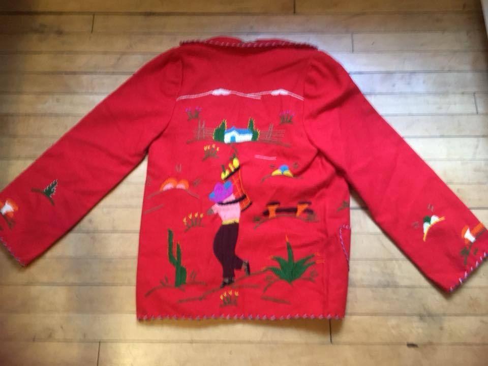 ef2c770c03 Vintage Mexican Embroidered Souvenir Jacket | My Ebay Stuff ...
