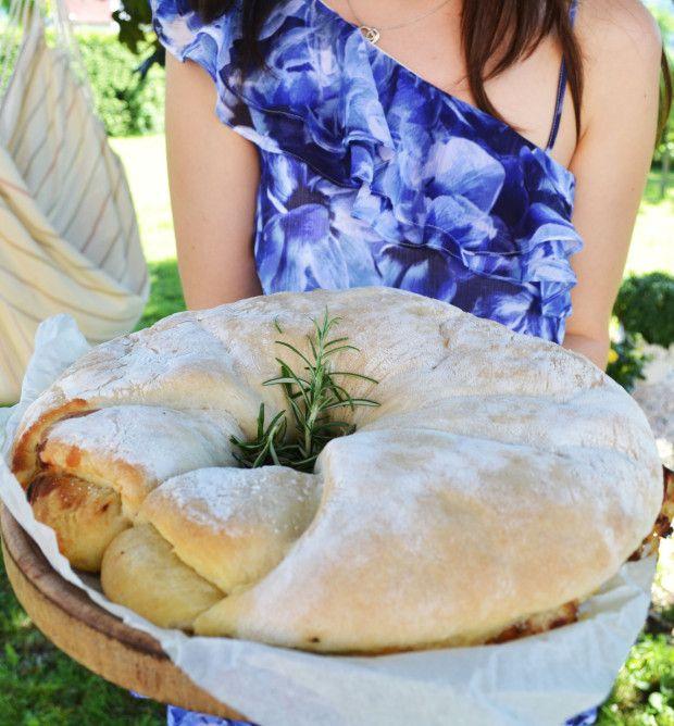 Familienliebling! Tortano mit mediterraner Füllung #foodrecipies