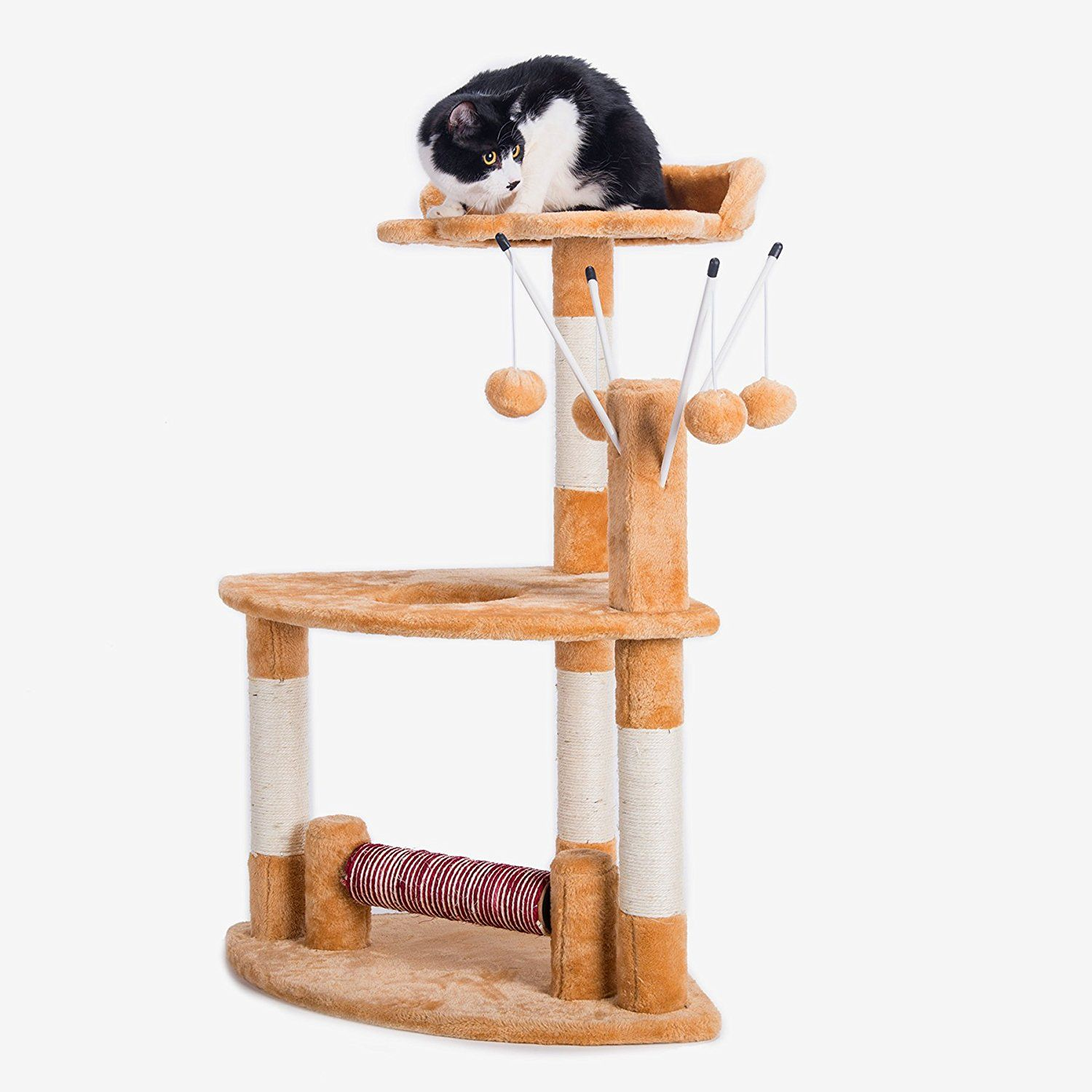 COZ 35'' Cat Tree House Condo Perch, Cat Furniture, with