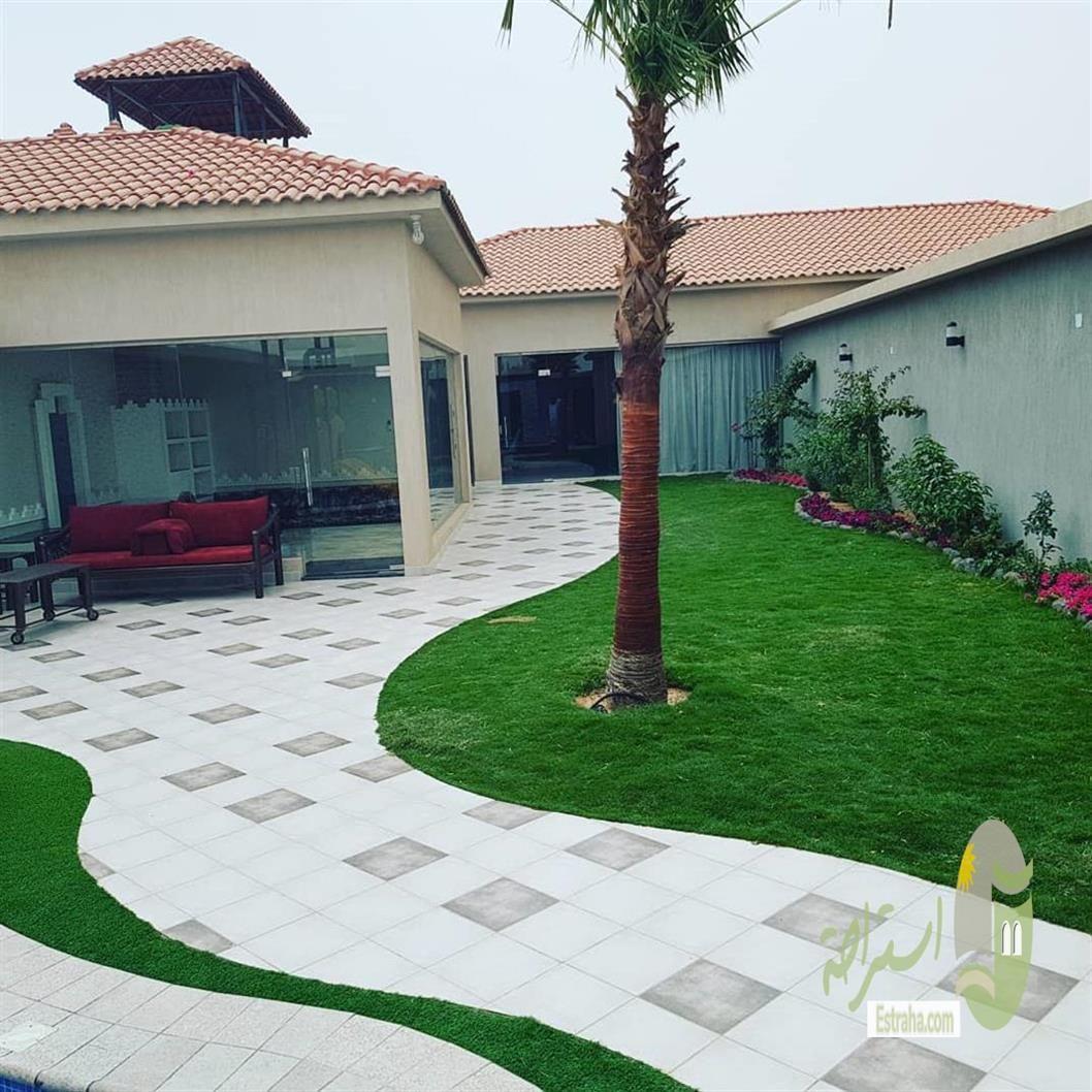 لدينا أجمل شاليهات الرياض و استراحات الرياض بتصاميم مميزة تحوي مسابح بمياه منعشة وألعاب Beautiful Lights Patio Outdoor