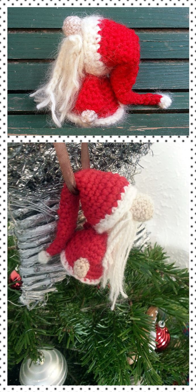 SANTA CLAUS AMIGURUMI - free crochet pattern | Christmas ideas ...