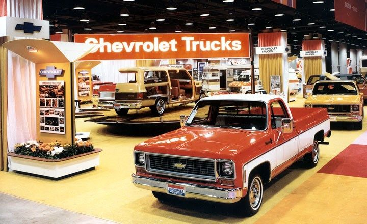 Show History Chevrolet Trucks New Pickup Trucks Chevy Trucks