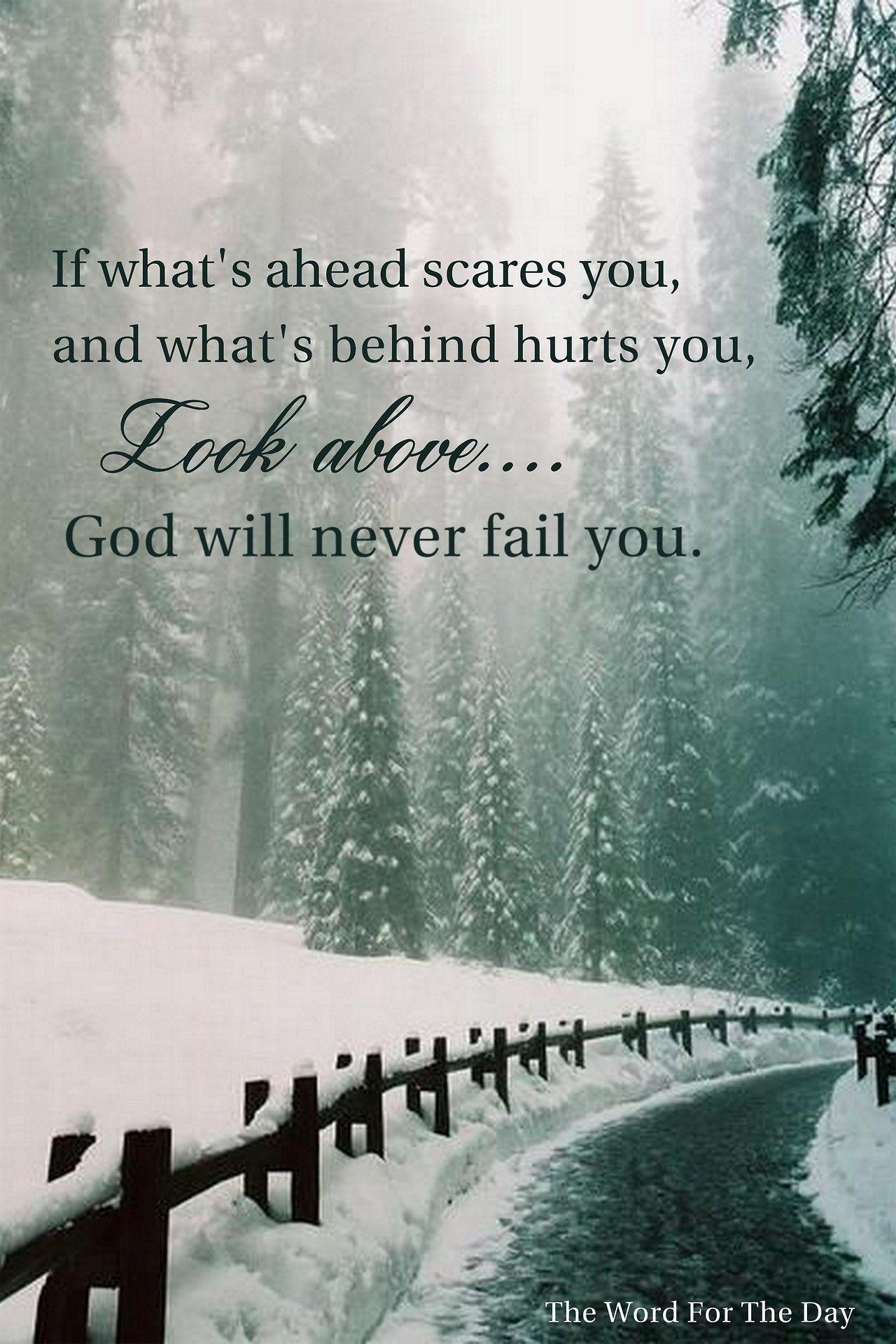 snow christmas tree bible quotes