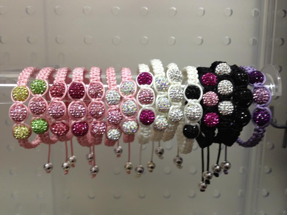 Shamballa Kids  Bracelets *Colors AvailableSuggested for Age 2 and up.   These can fit Mommies too !