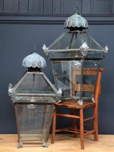 Large Hall Lanterns, Antique Lighting, Via Drew Pritchard And Salvage  Hunters (UK Tv Reality Show). Repinned By Www.silver And Grey.com. If You  Havu2026