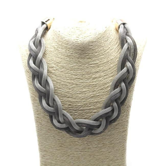 21ed16a72ee9 Collar estilo nudos moderno