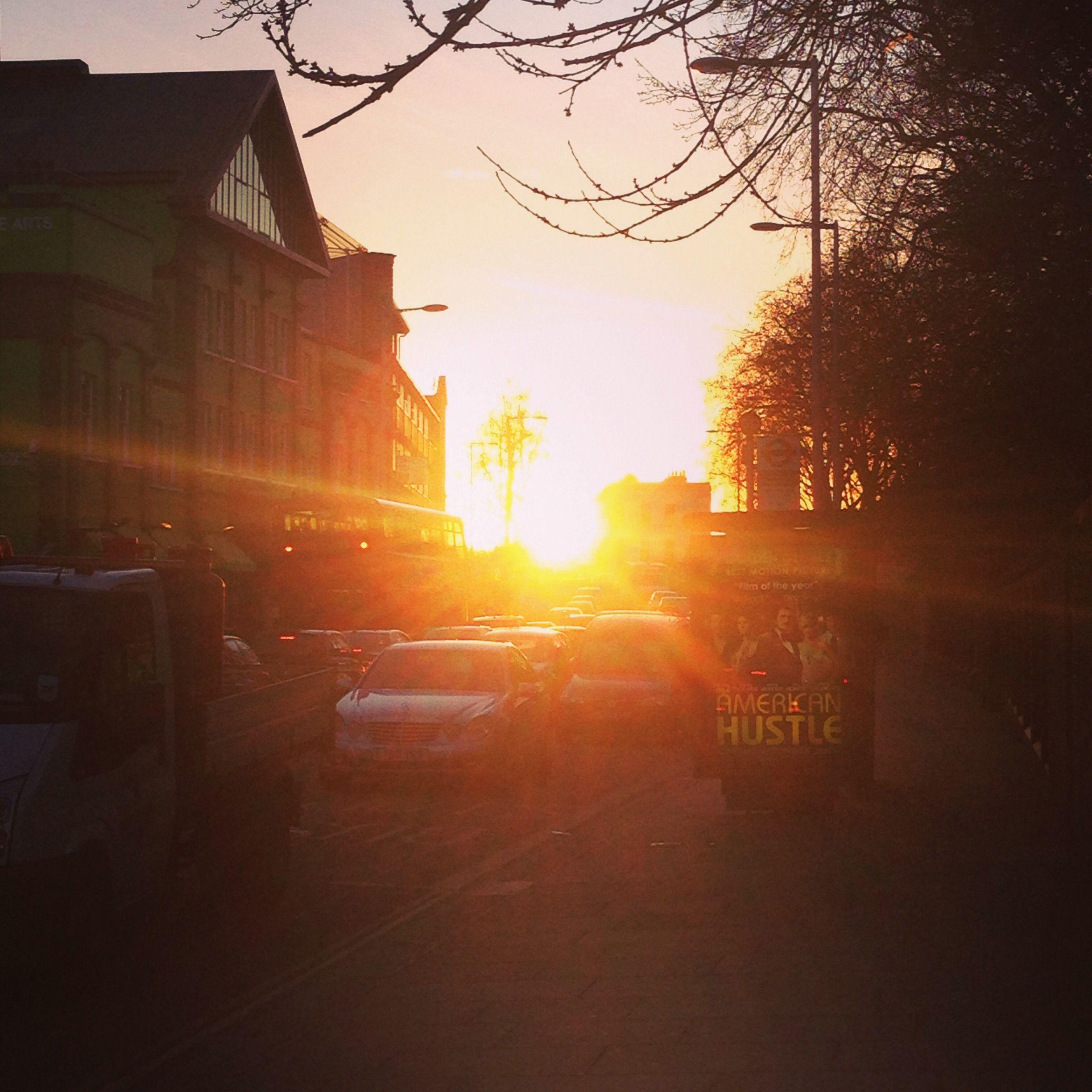 King's road, winter afternoon