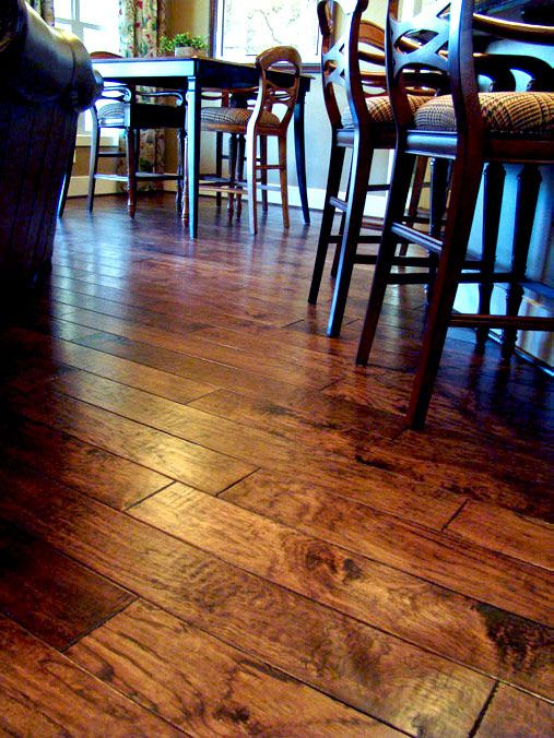 Hand Scraped Hardwood Floor hand scraping hardwood floors Hand Scraped Hickory Wood Floorsthis Is The Floor My New House Will Have