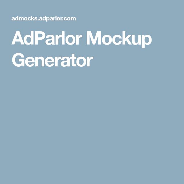 Adparlor Mockup Generator Mockup Generator Mockup Free Ads