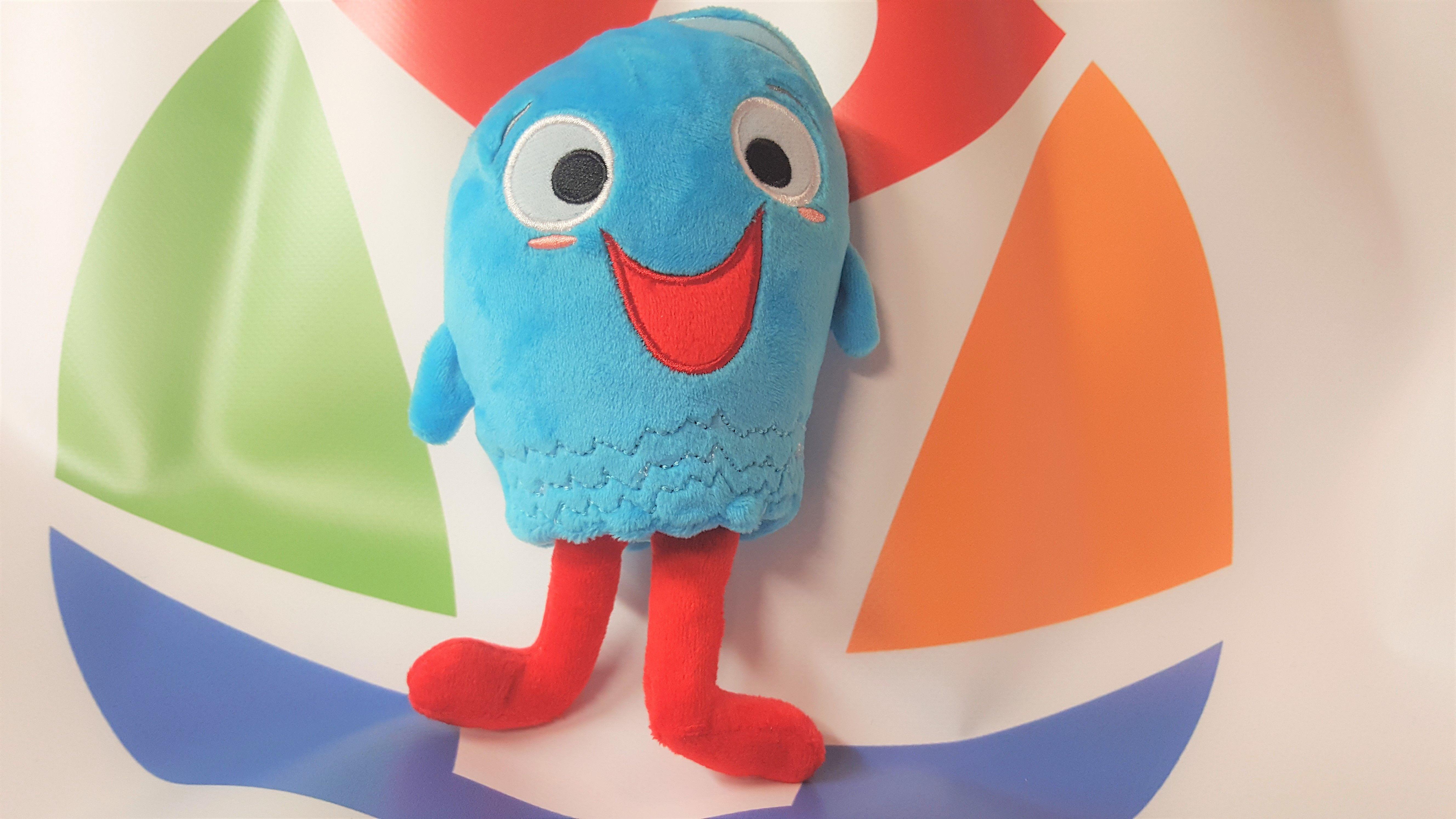 Bluenomial Plush Toy