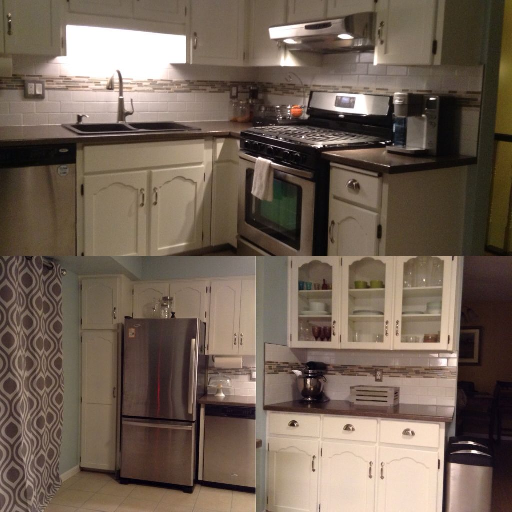 Kitchen Reno done! 😀 | Kitchen reno, Kitchen, Kitchen cabinets