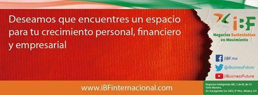 IBF - INTERNACIONAL Future. Cuauhtémoc, Distrito Federal, México  El más GRANDE y Lucrativo sistema de capitalización sin deuda. Empresa Seria, Estable, con un equipo de Profesional.  Tirada diaria de nuestros propios productos en facebook y twitter.  http://www.ibfinternacional.com/asunreguera@hotmail.com