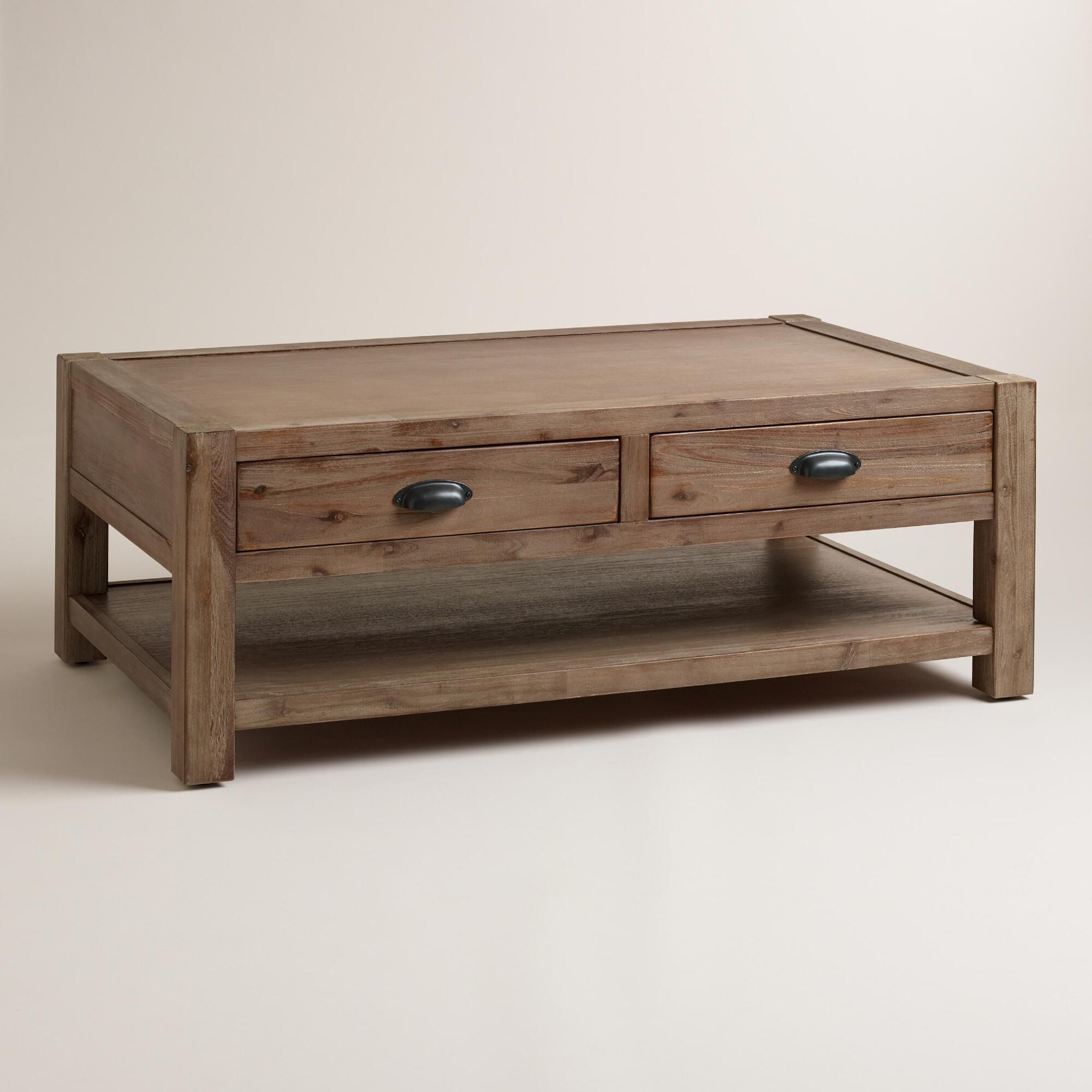 28++ Farmhouse coffee table with drawers info