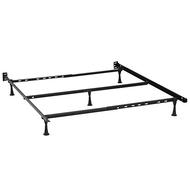 Futuristic Metal Bed Frame Queen Property