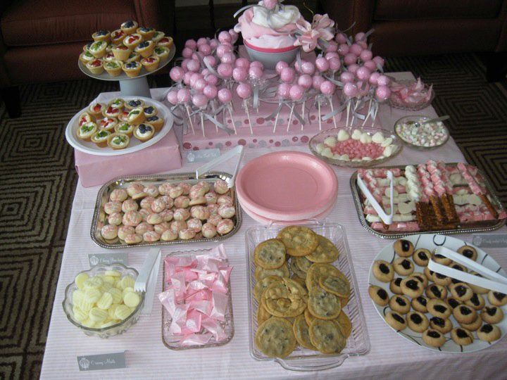 Pink And Gray Baby Shower | Gray Baby Showers, Baby Showers And Pink Cake  Pops