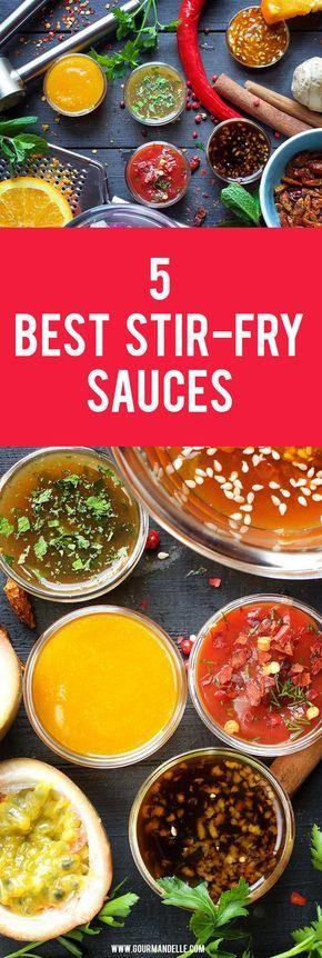 5 Best Easy Stir-Fry Sauces #stirfrysauce