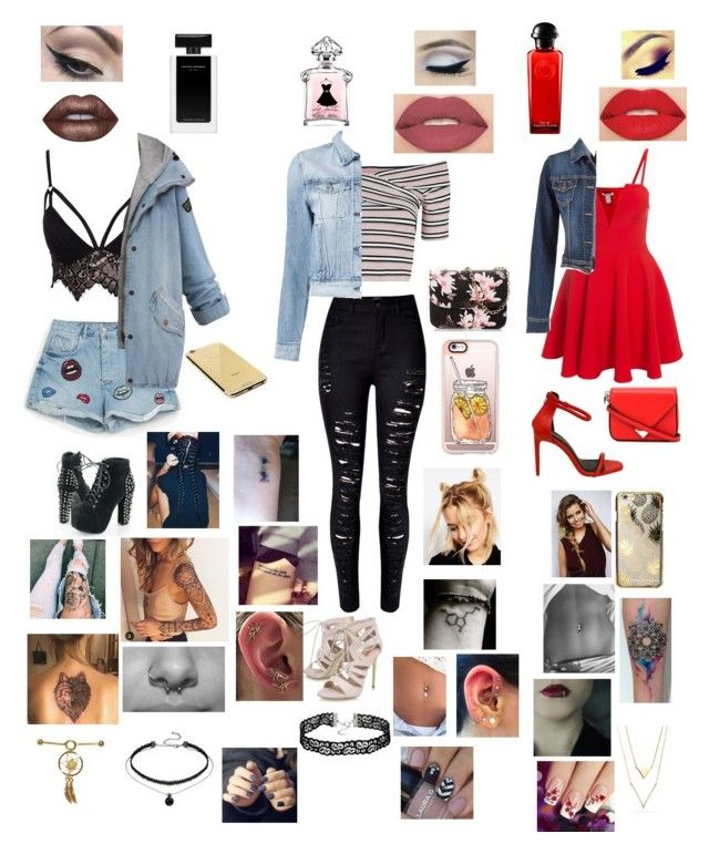 """""""Untitled #556"""" by oliviamarvel on Polyvore featuring Club L, Topshop, WithChic, Carvela, 3x1, maurices, Alexander Wang, Casetify, Skinnydip and Goldgenie"""