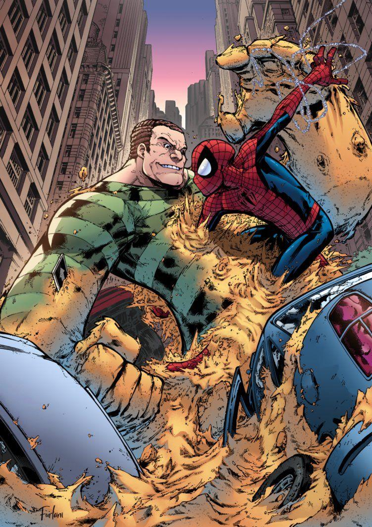 Spider-Man VS Sandman by Furlani.deviantart.com on ...