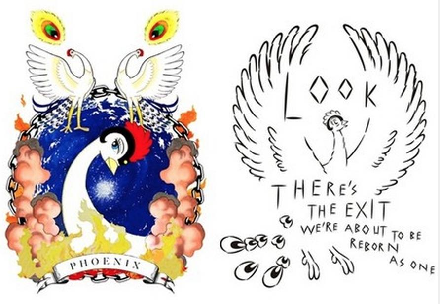 대한민국 취미뉴스 하비타임즈 - 미하라 야스히로가 데즈카 오사무의 만화 '불새'와 콜레보레이션