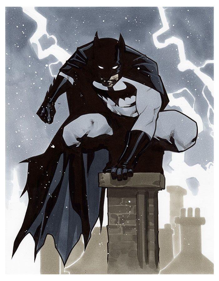 Creative Differences : Mahmud Asrar   Batman - MGC 2015 Pre-Show Commission