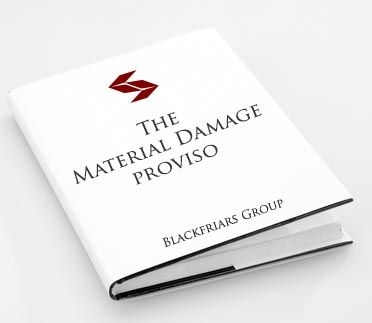 What is the Material Damage Proviso in a Business Interruption