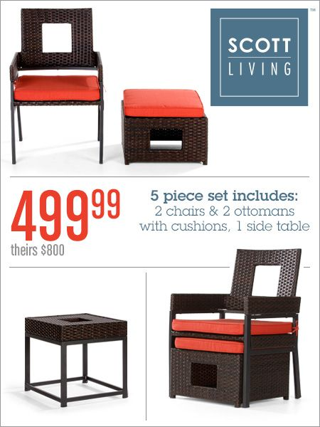 New Furniture Would Look Great On A Patio Pinmydreambackyard Get It At Gordmans